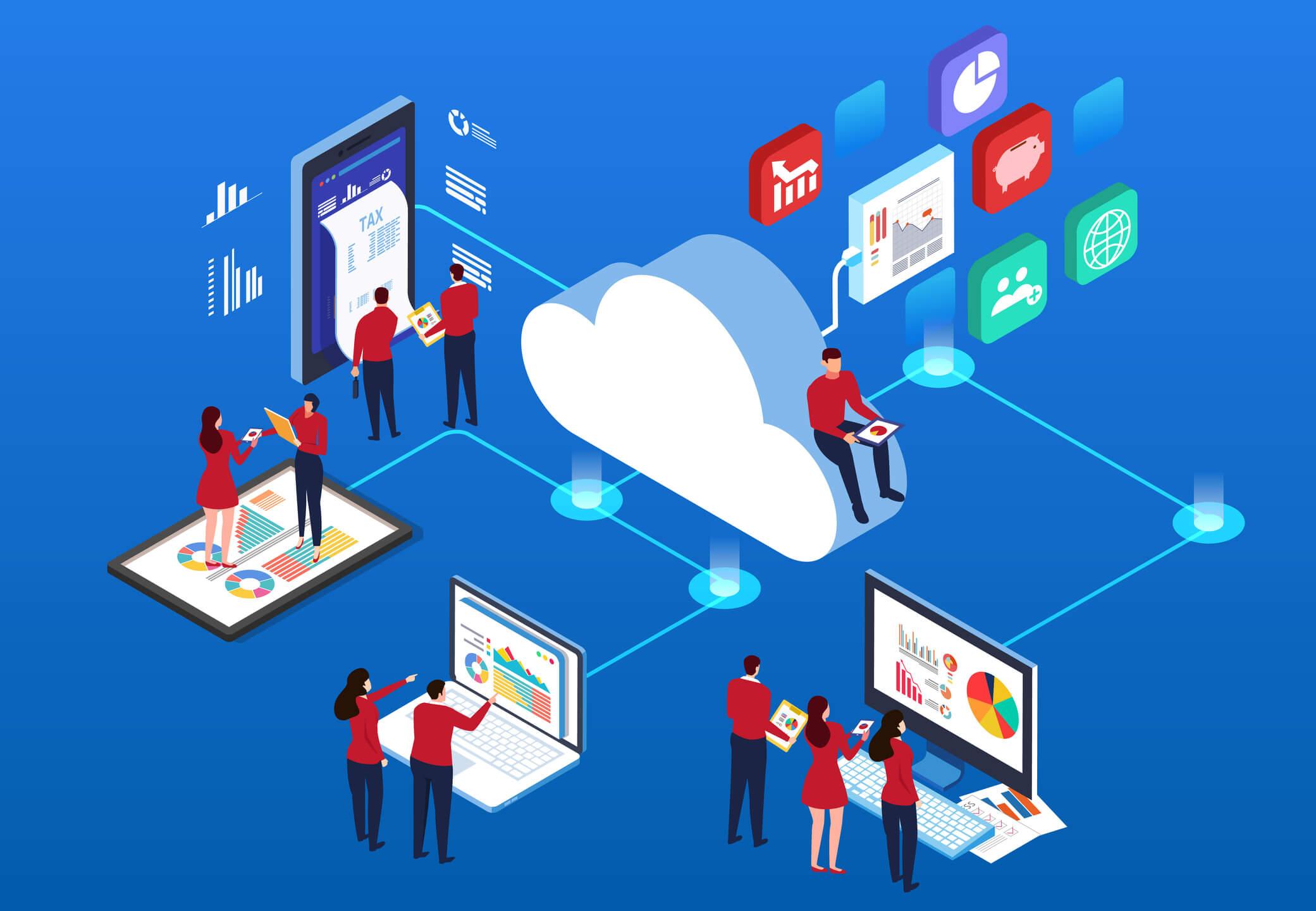 Software na nuvem? 4 vantagens de utilizar na sua clínica!